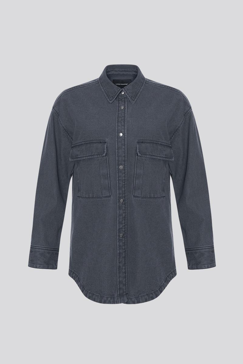 [LZSD]Denim Jacket (black)