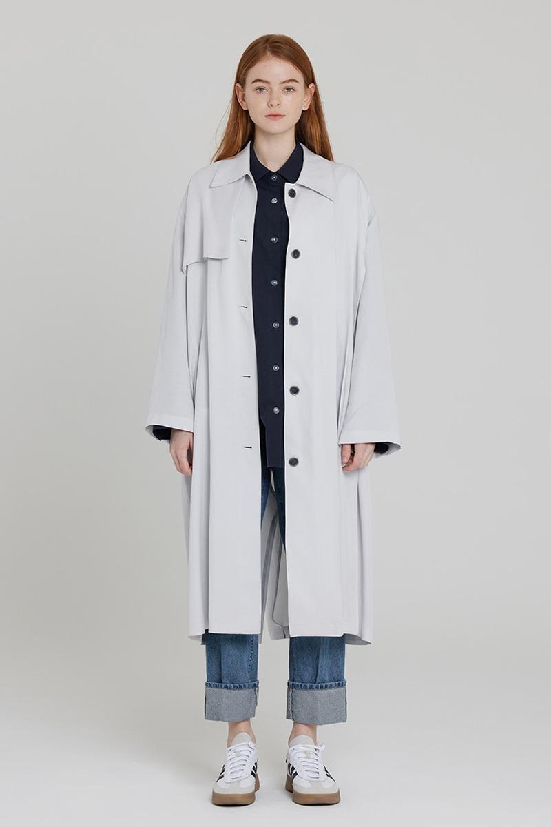[LZSD]mac coat  (light grey)
