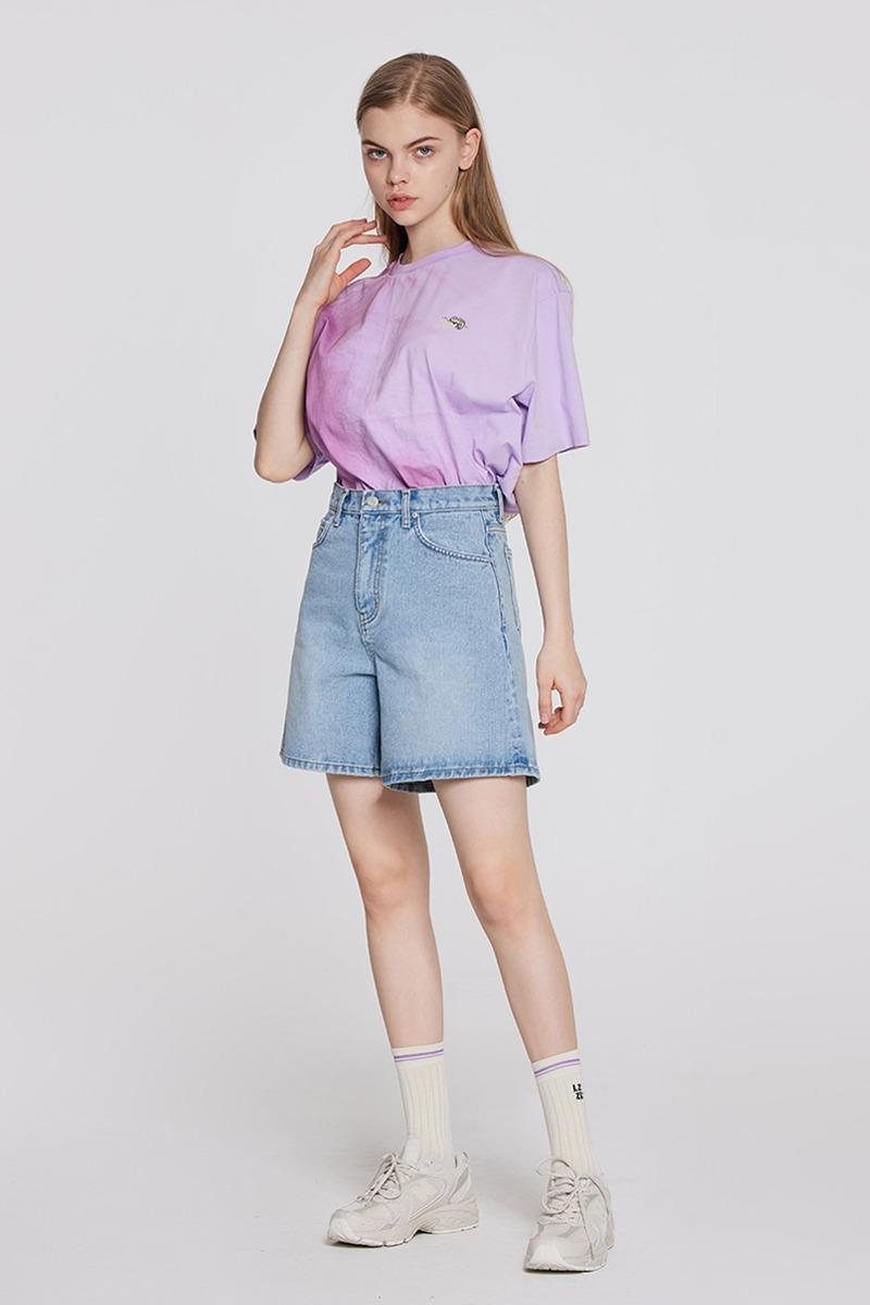 [LZSD] Half Denim pants (blue)