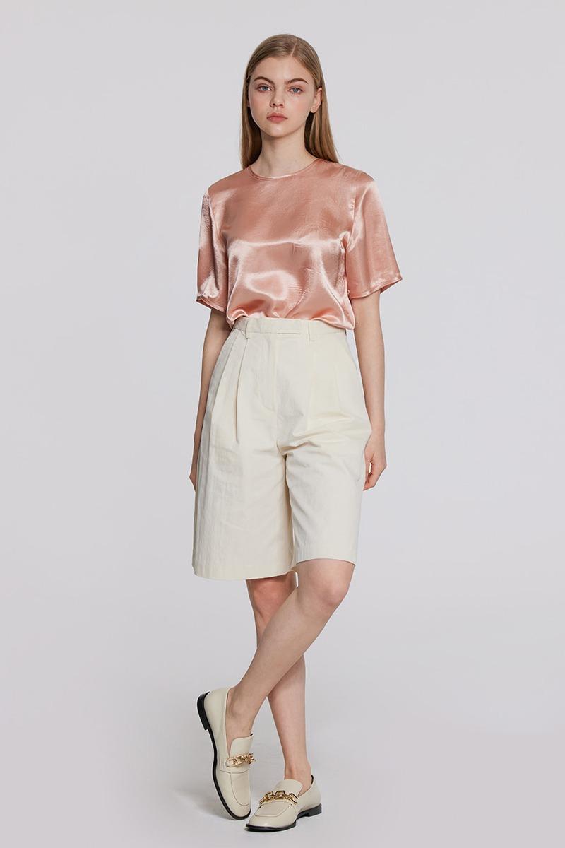 Coord Set Bermuda Shorts (beige)