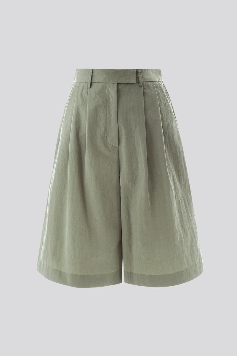 [LZSD] Set-up Bermuda pants (khaki)